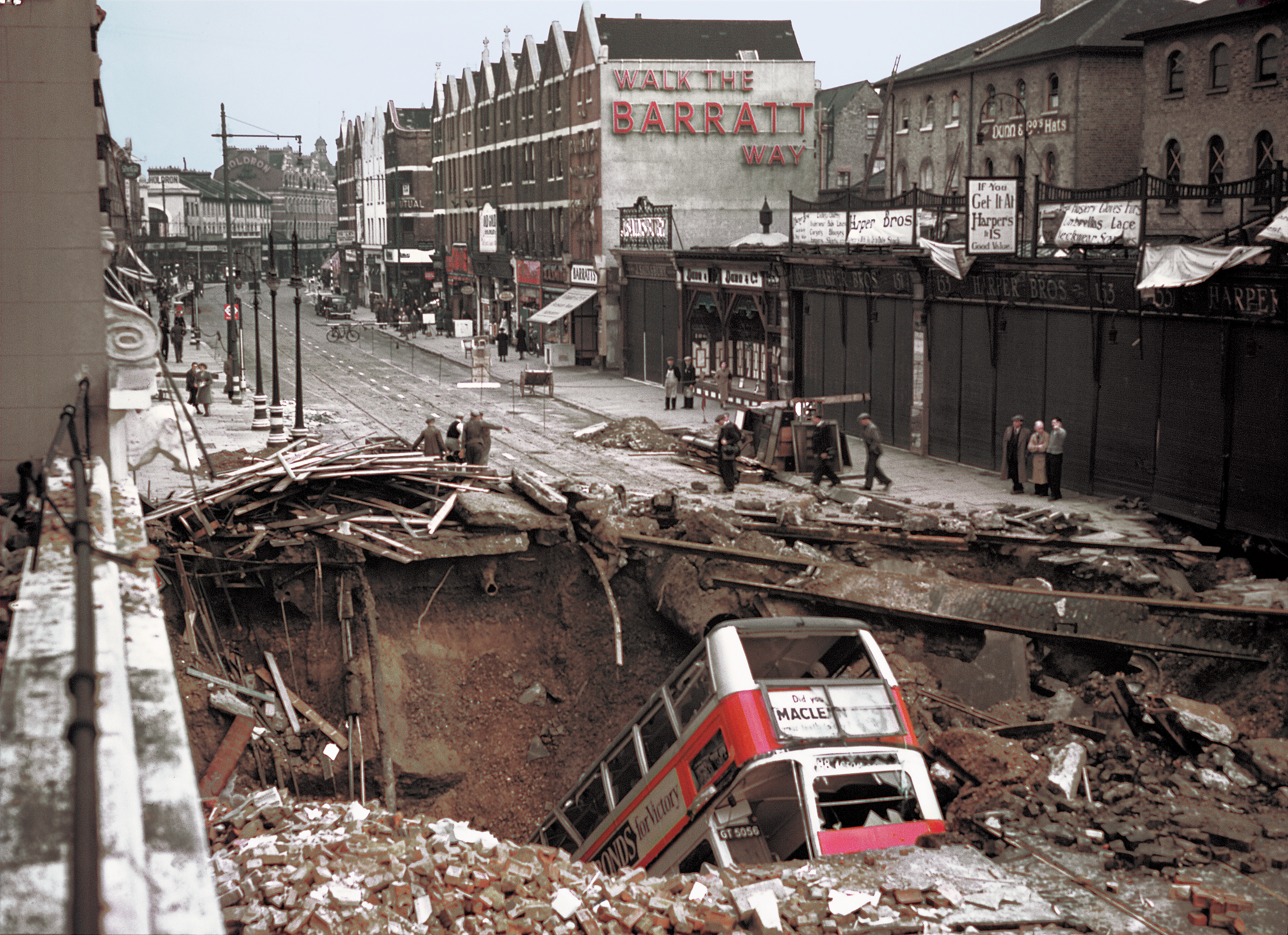 WWll in Colour-The Battle of Britain and the Blitz Over London