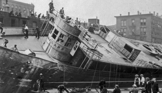 ss eastland, ships, disasters