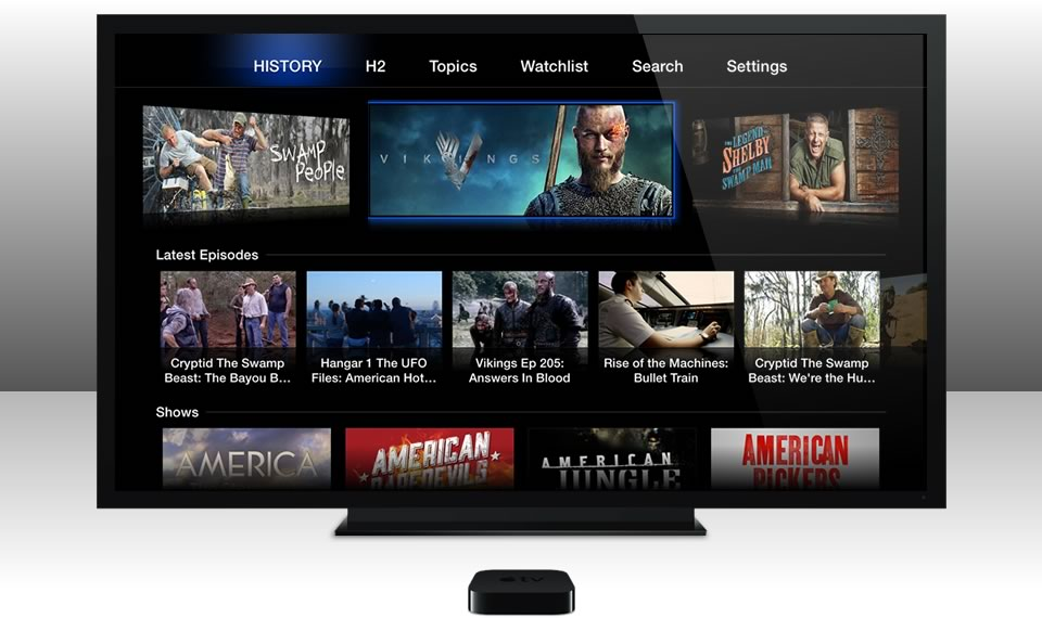 HISTORY Apple TV App