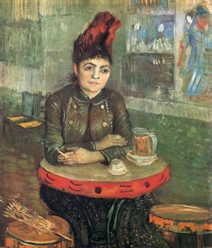 A van Gogh painting of Agostina Segatori.
