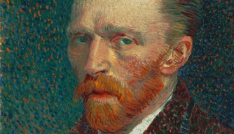 An 1887 van Gogh self-portrait (Credit: Art Institute of Chicago/Wikimedia Commons)
