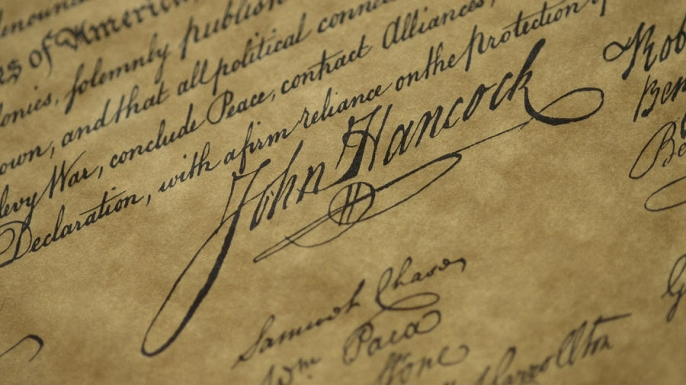 handwriting, john hancock
