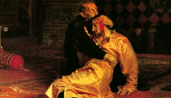 """Ivan the Terrible Killing His Son"" by Ilya Repin."