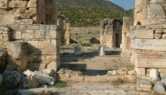 St. Philip Martyrium in Hierapolis, Turkey
