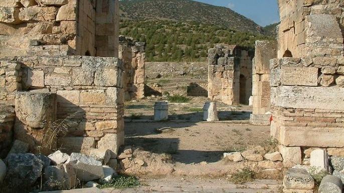 St. Philip Martyrium in Hierapolis, Turkey