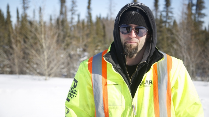 Ice Road Truckers, Mike Simmons