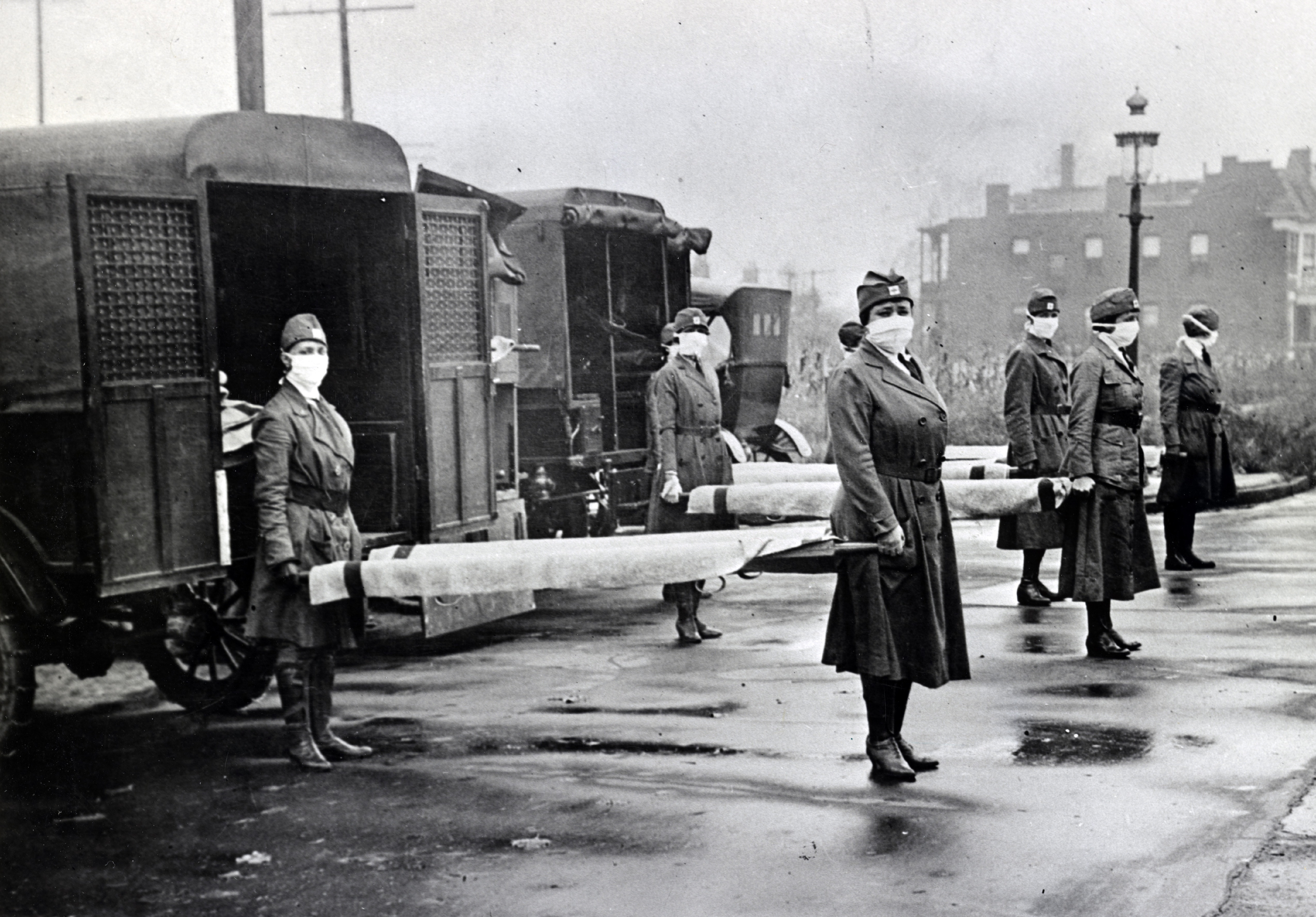 spanish flu pandemic of 1918 One hundred years ago, the virulent spanish flu left 50 to 100 million people dead a pandemic of that magnitude could happen again.