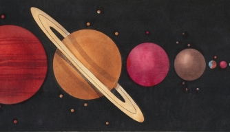 space, solar system, planets