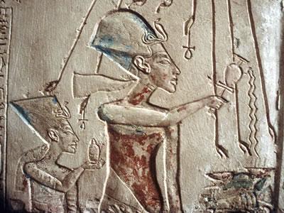 nefertiti, tutankhamen