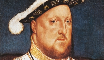 UNSPECIFIED - CIRCA 2003: Portrait of Henry VIII Tudor (Greenwich, 1491-London, 1547), King of England and Lord of Ireland. Painting by Hans Holbein the Younger (ca 1497-1543). (Photo by DeAgostini/Getty Images)