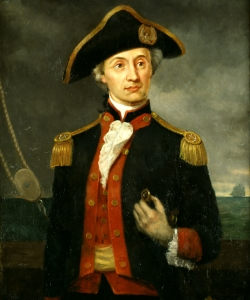 John Paul Jones, an early commander in the Continental Navy. (U.S. Senate Historical Collection)