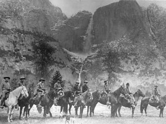 Yosemite's first rangers.