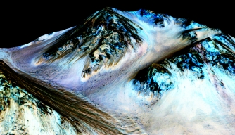 Water Flows on Mars' Surface, NASA Scientists Say