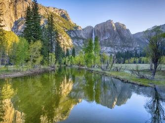 Yosemite Falls, Merced River. (Credit: Chris Hepburn/iStock)