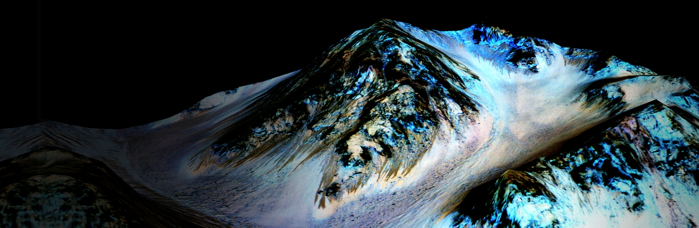 Water Flows on Mars, Scientists Say