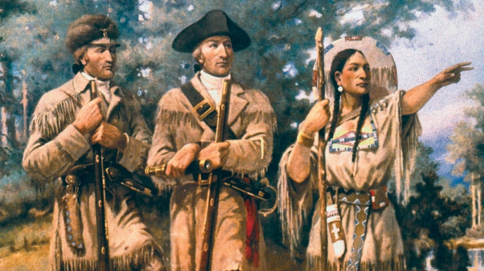 Image result for lewis and clark sacagawea
