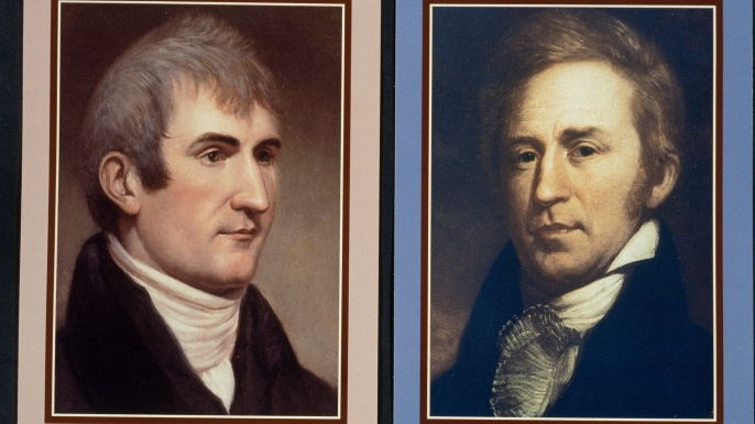 Lewis (L) and Clark (R).  (Credit: Jean-Erick PASQUIER/Getty Images)