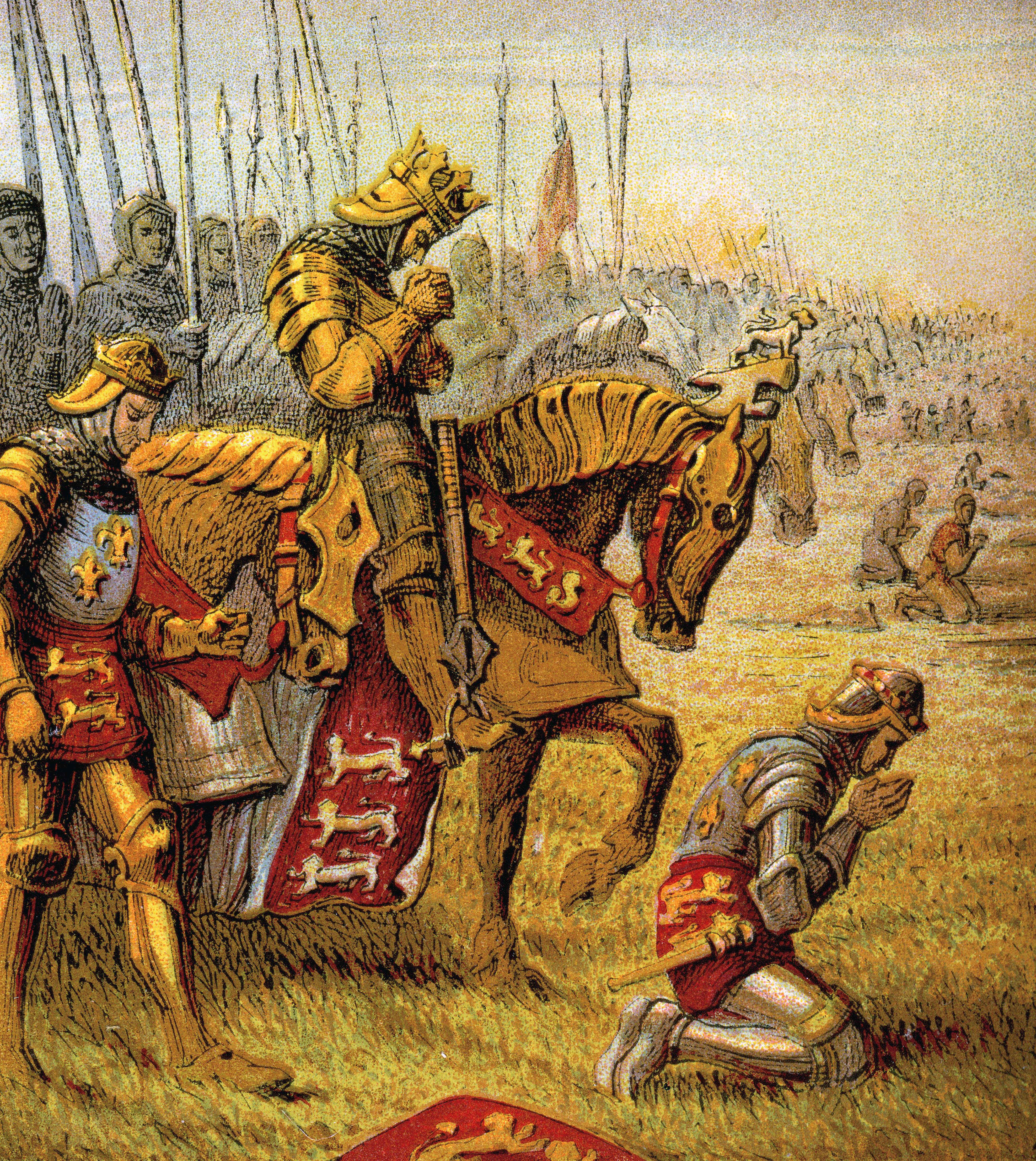9 Things You May Not Know About the Battle of Agincourt - History ...
