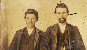 Is Photo of Jesse James with Killer Real?