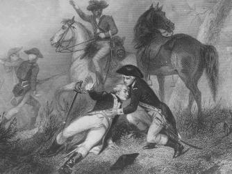 marquis de lafayette, american revolution