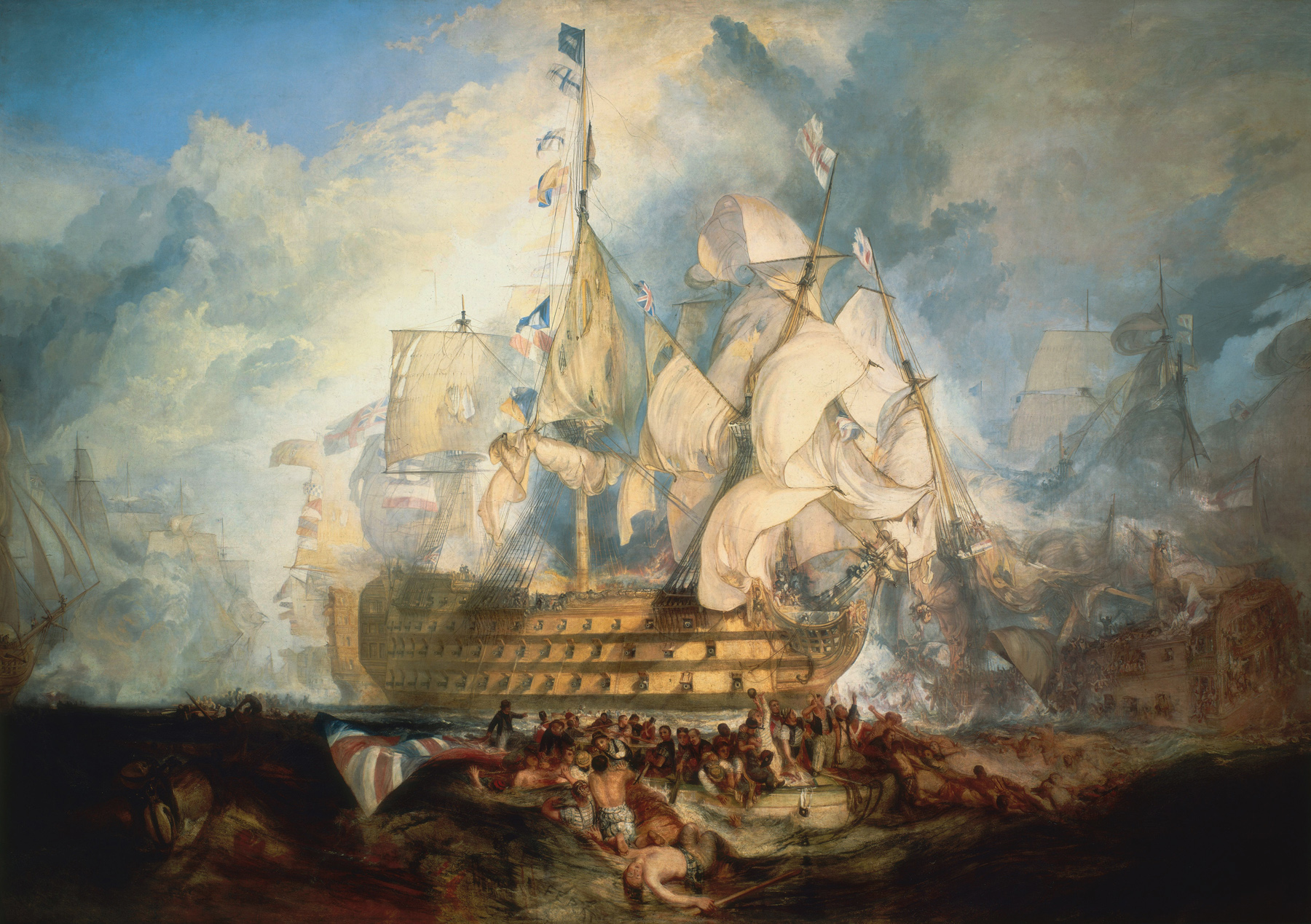 battle of trafalgar Battle of trafalgar: battle of trafalgar, (oct 21, 1805), naval engagement of the napoleonic wars, which established british naval supremacy for more than 100 years it was fought west of cape trafalgar, spain, between cádiz and the strait of gibraltar a fleet of 33 ships (18 french and 15 spanish) under admiral.