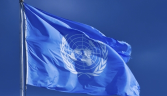 United Nations flag. (Credit: http://www.istockphoto.com/)