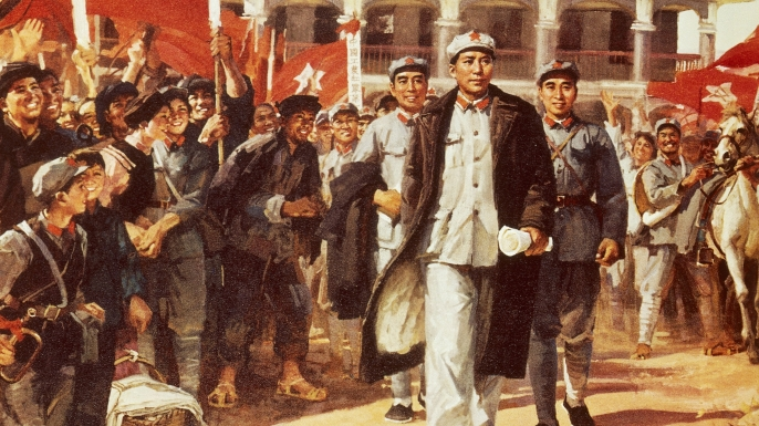 military retreats, long march, mao zedong