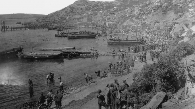 military retreats, gallipoli