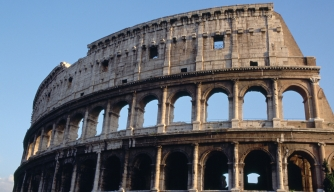 Colosseum, Rome. (Credit: Art Media/Getty Images)
