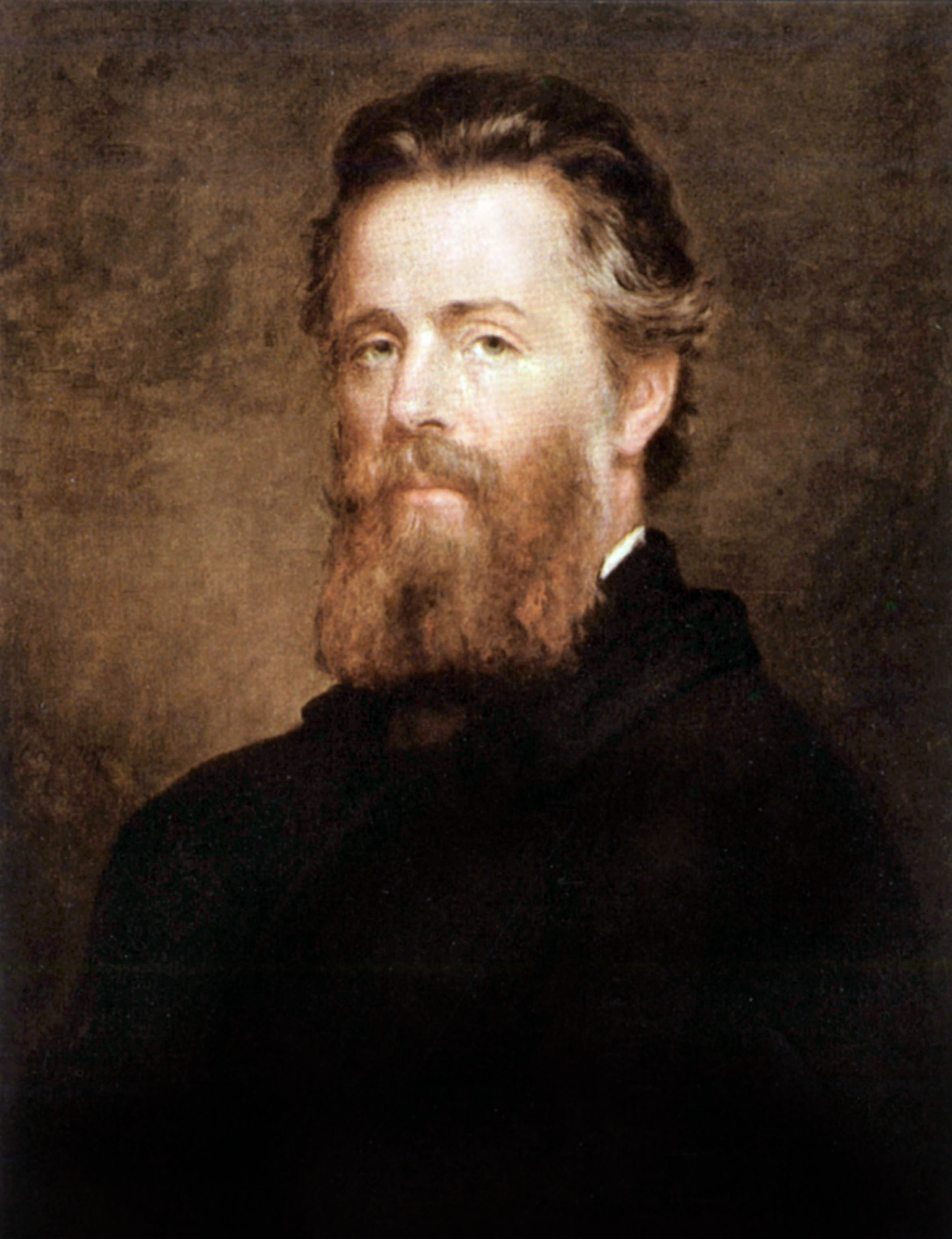 famous authors day jobs lists herman melville painted by joseph eaton credit apic getty images