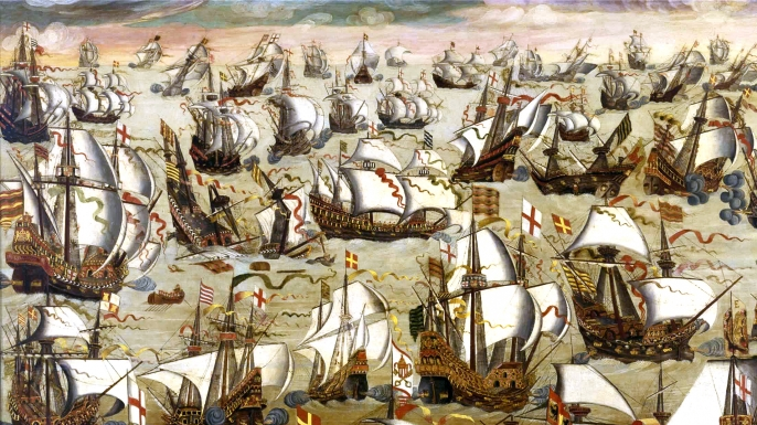 the european history on the spanish armada On may 19, the invincible armada set sail from lisbon on a mission to secure control of the english channel and transport a spanish army to the british isle from flanders.