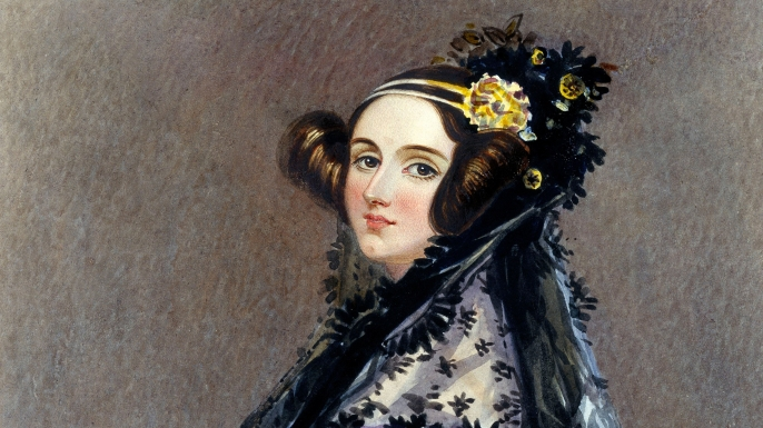 Portrait of Ada Lovelace.