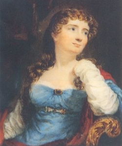 Portrait of Annabella Byron, mother of Ada Lovelace.