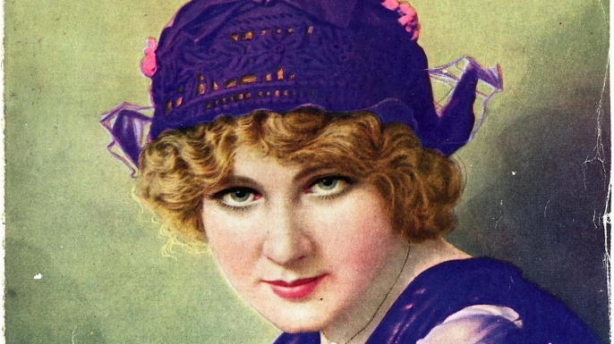 Florence Lawrence on the cover of Photoplay Magazine, 1914.