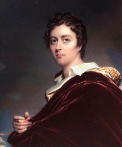 Portrait of Lord Byron.