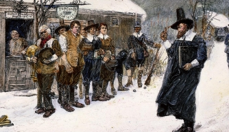 When Massachusetts Banned Christmas