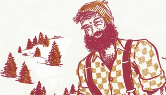 Was Paul Bunyan a real person?