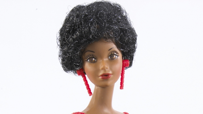 African-American Barbie, 1980. (Credit: Mattel)