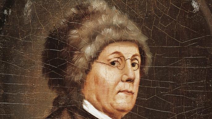 Benjamin Franklin. (Credit: DeAgostini/Getty Images)