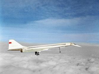 Konkordski in flight. (Credit: Lev Polikashin/RIA Novosti)