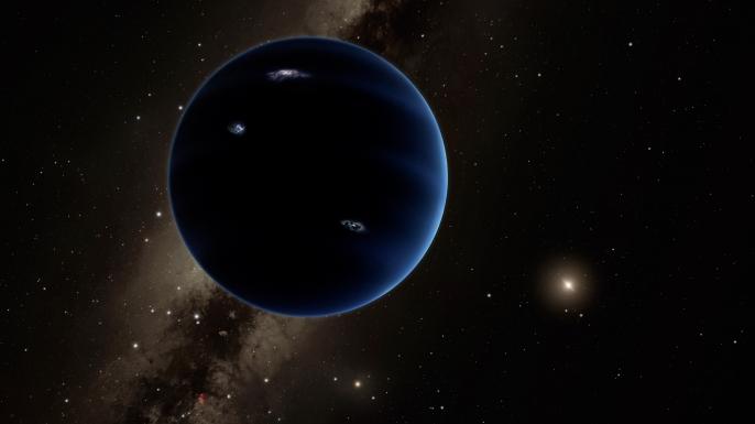 space, planet nine