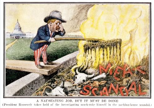 Upton Sinclair Cartoon