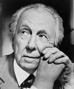 Portrait of Frank Lloyd Wright. (Credit: United States Library of Congress)