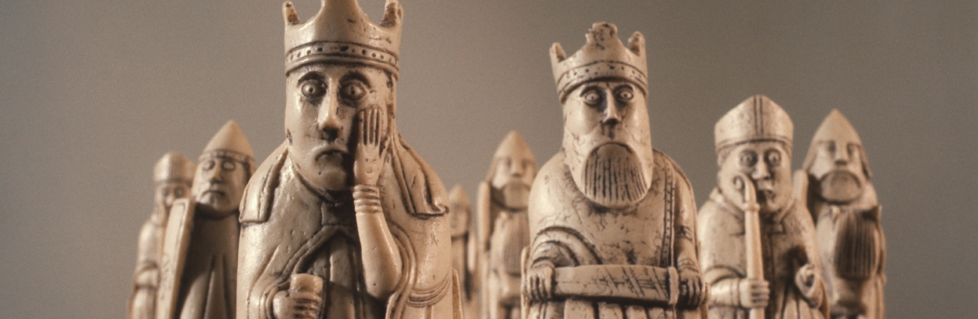 lewis chessmen, vikings, scotland