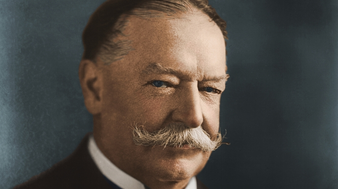 circa 1910:  William Howard Taft (1857 - 1930), twenty-seventh president of the United States of America.  (Photo by Stock Montage/Stock Montage/Getty Images)