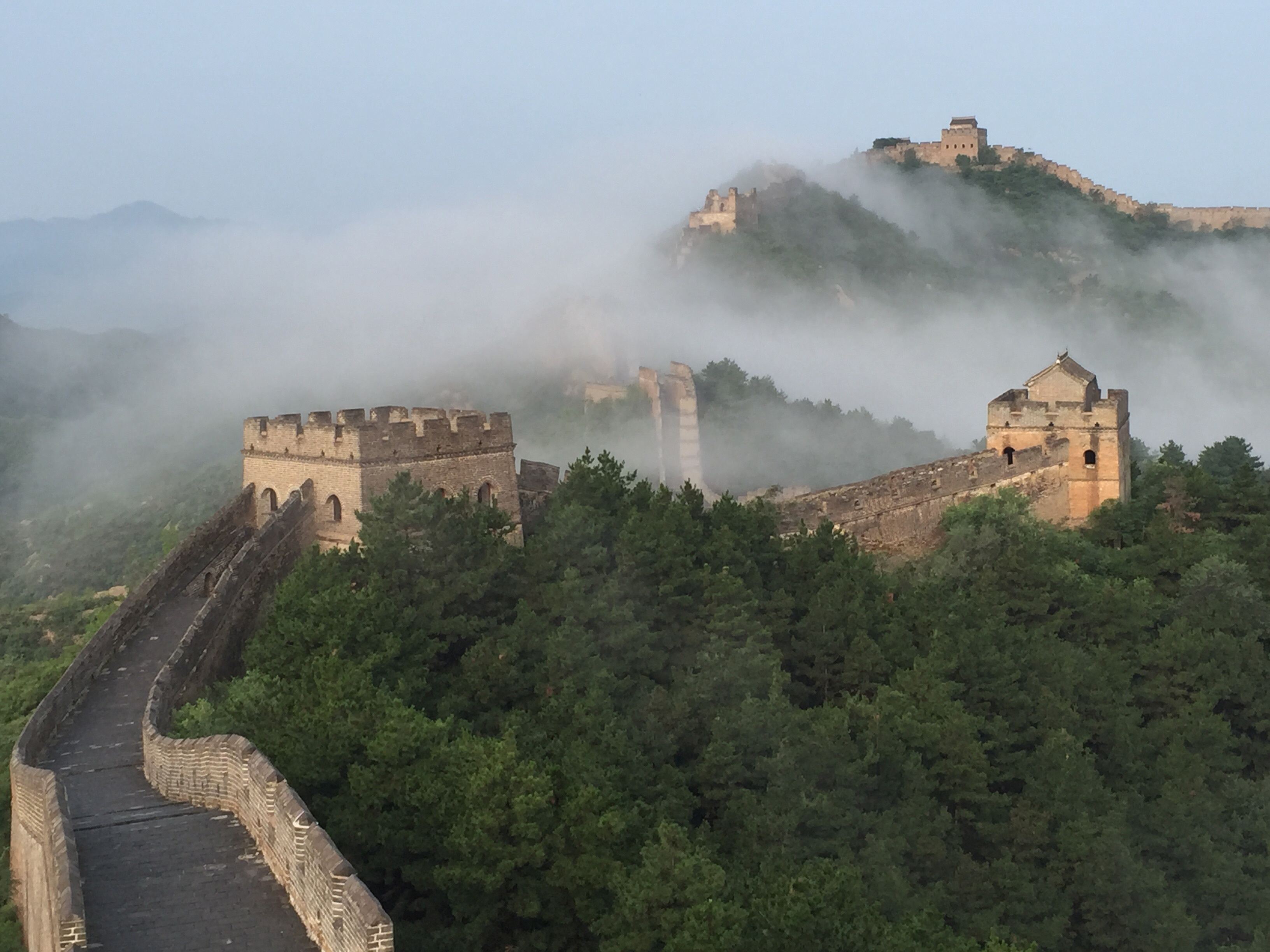 the great wall of china as a physical border As with the modern ming-era sections, the earlier builders of the great wall used  the natural terrain to their maximum advantage visitors to the great wall today.