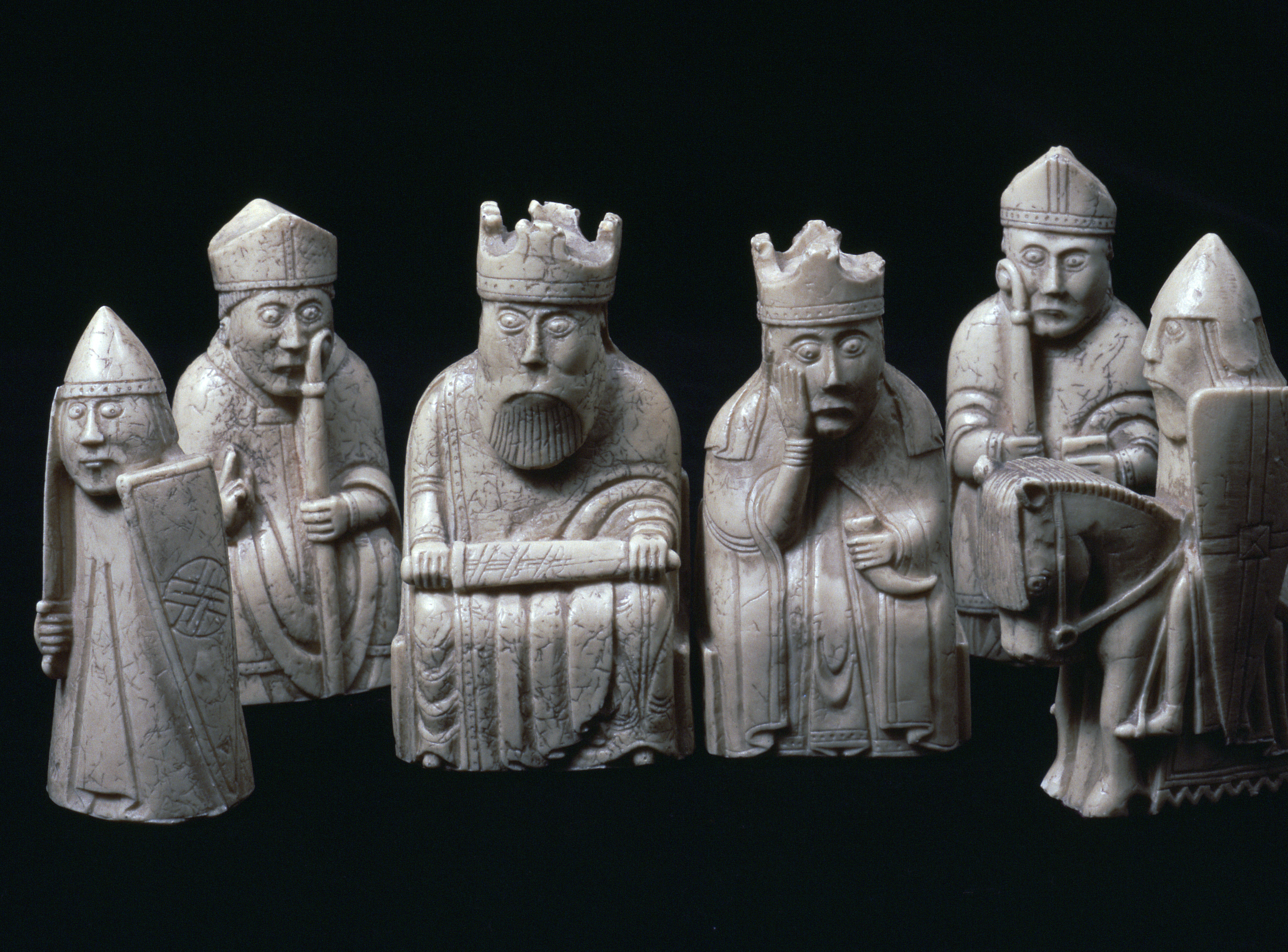 The enduring mystery of the lewis chessmen history in the headlines - Lewis chessmen set ...