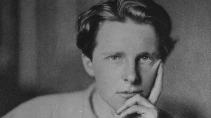 Portrait of Rupert Brooke.  (Credit: The LIFE Picture Collection/Getty Images)