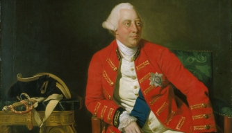 Portrait of George III of the United Kingdom. (Credit: Public Domain)