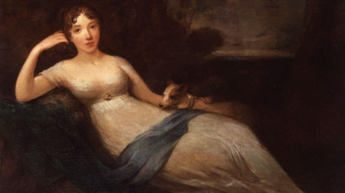 Portrait Lady Caroline Lamb. (Credit: Public Domain)